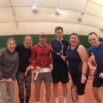 Nyttårs-Ribberist turnering i boblen – God stemning!